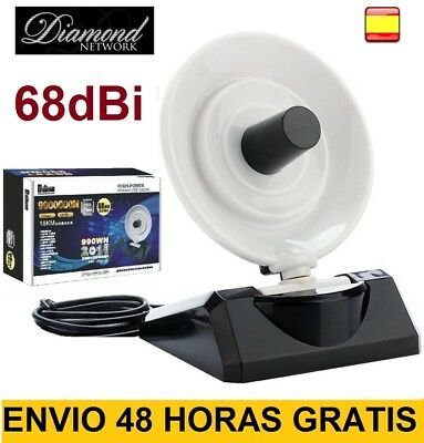 Antena Wifi 68dBi Adaptador USB Largo alcance 9900000N DIAMOND