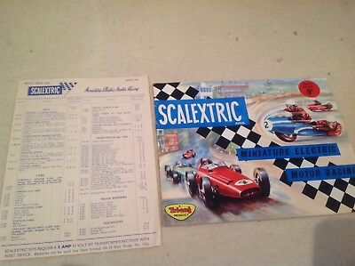 Scalextric miniature electric motor racing catalogue fourth edition scalextric miniature electric motor racing catalogue fourth edition fandeluxe Images