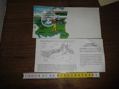 106Th Golf Open Campionship Turnberry 1977 Busta + Cartolina