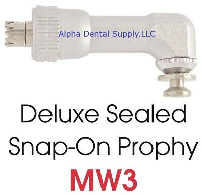 Johnson-Promident Dental Deluxe Midwest Type Snap-On Sealed Prophy Angle