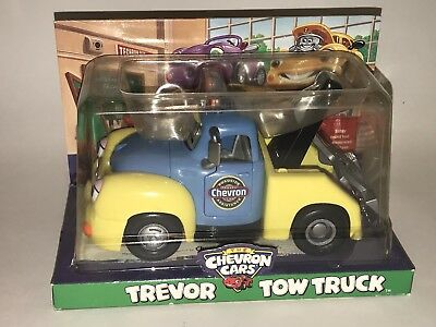 CHEVRON The Chevron Cards TONY TOW TRUCK Vehicle NIP 2001 NEW