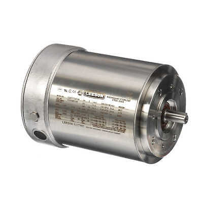 LEESON ELECTRIC MOTOR 810548.00 1 HP 1756 Rpm 3PH 230/460 Volt 143TC ...
