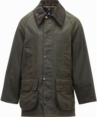 Barbour Beaufort Waxed Jacket Size c38-97cm (Medium)