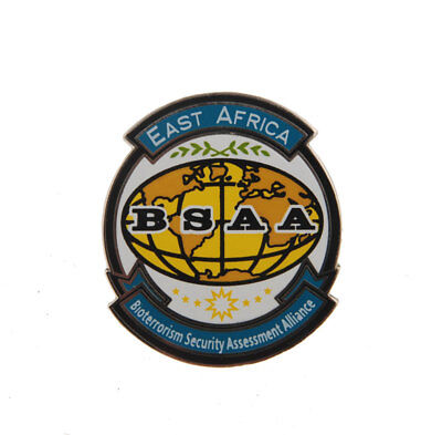 Resident Evil Bsaa B.s.a.a. East Africa Bio Security Lapel Pin Badge-1639