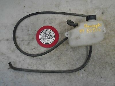 1987 Kawasaki Ex500 Coolant Bottle / Reservoir