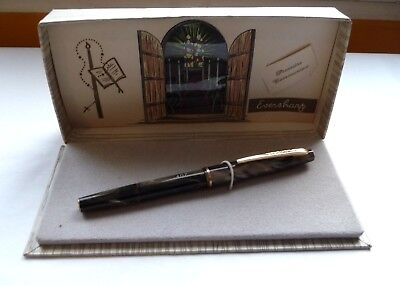 Ancien Stylo Plume Eversharp Plume Or / Version Luxe / Boite Communion