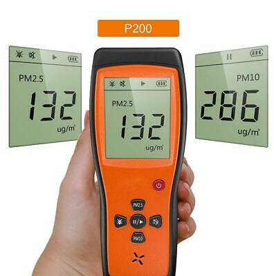 Air Quality Detector Professional Meter for PM2.5/PM10 Temperature Humidity