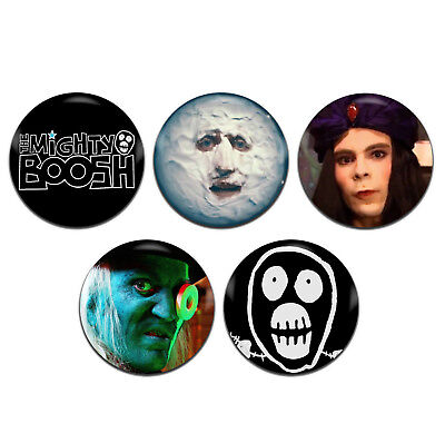 5x The Mighty Boosh TV 25mm / 1 Inch D Pin Button Badges