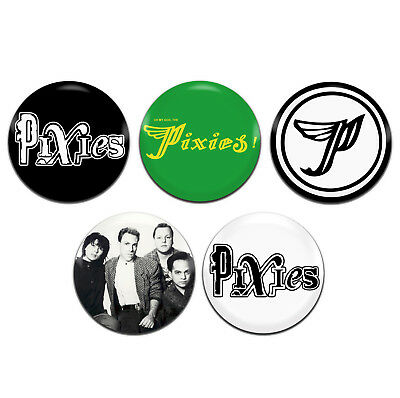 5X PANIC! AT The Disco Band Emo Rock Punk 25mm / 1 Inch D