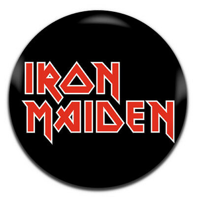 Iron Maiden Band Heavy Rock Metal 25mm / 1 Inch D Pin Button Badge