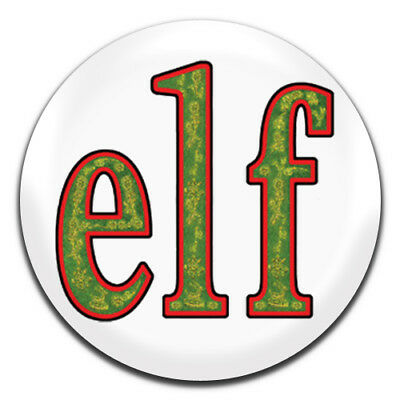 38mm//1.5 inch Santa I Know Him Elf Quote Funny Christmas Button Fridge Magnet