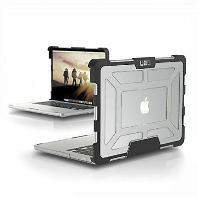 URBAN ARMOR GEAR UAG Case for MacBook Pro 13 A1502 in Ice Black (3rd Generation)