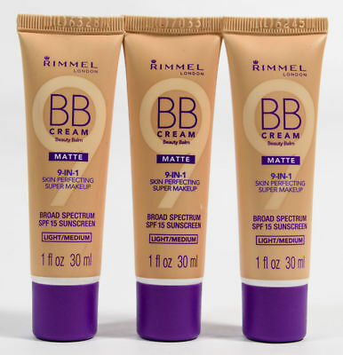 Rimmel 9-In-1 Skin Perfecting Super Makeup BB Cream Beauty Balm 30ml