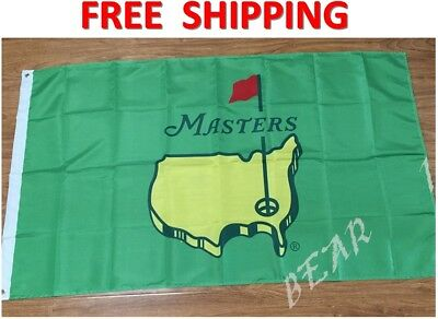 The Masters Flag PGA Augusta National Golf Club Green Banner 3x5ft 2 Grommets
