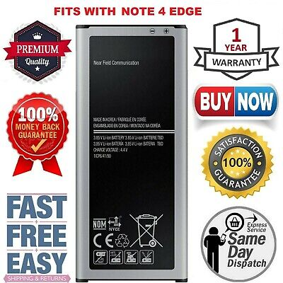 (3010mAh) Battery Fits For Samsung Galaxy Note4 EDGE Replacement 4G LTE SM-N915