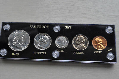 1952 Proof Set in Capital Holder