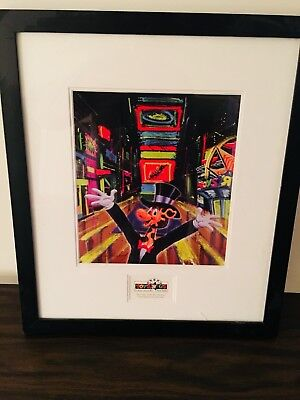 "Toys R Us ""Times Square watercolor"" Framed"
