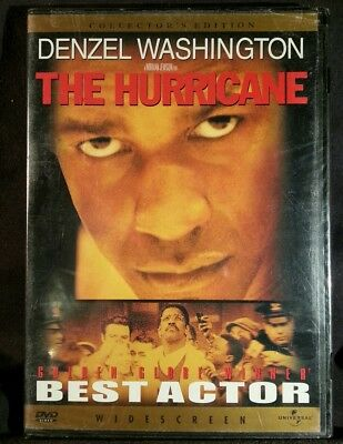 The Hurricane (DVD, 2000) Factory sealed
