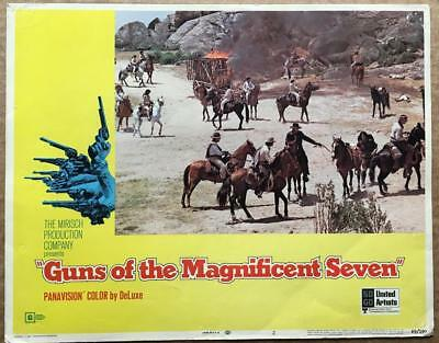 GUNS OF THE MAGNIFICENT SEVEN '69 #2  Western Org Lobby Card 164