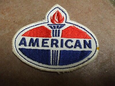 """Vintage AMERICAN  Gas Fuel Embroidered Sew On Uniform Jacket Patch logo 3"""""""