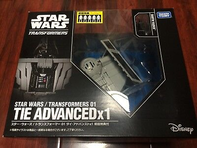 Star Wars Transformers Darth Vader Cross Over Tie Advanced 1X Fighter 2018