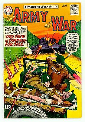 Our Army At War #131 Vg/fn 5.0 Sgt Rock White Pages Comic 1963