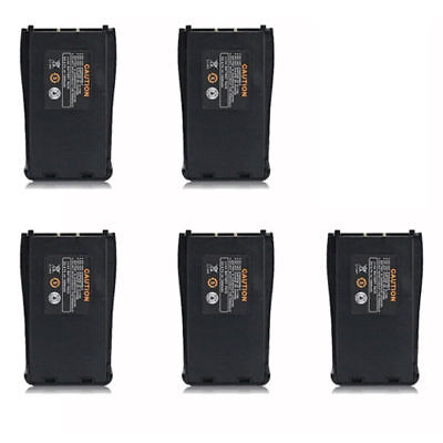 5X Original Spare Battery For Baofeng BF-888S Two Way Radio