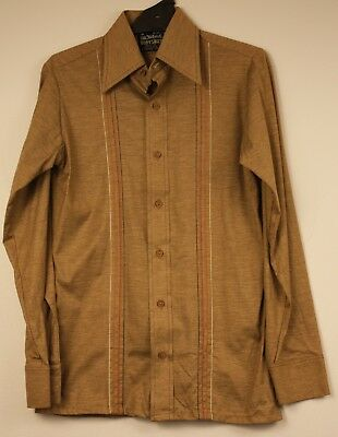"SALL, NEW, ORGINAL VINTAGE 1970s "" GLOWEAVE "" BODY SHIRT."