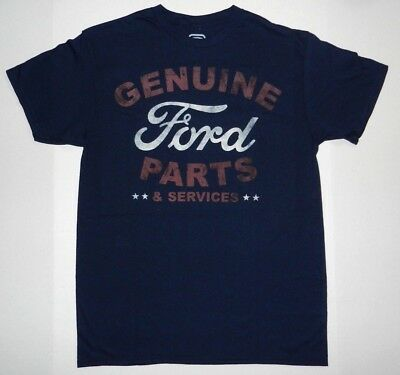 Official Licensed Product Ford Genuine Ford Parts & Services Logo T-Shirt New
