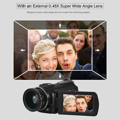 Andoer AC3 4K UHD 24MP Digital Video Camera Camcorder DV Recorder with Q0O5