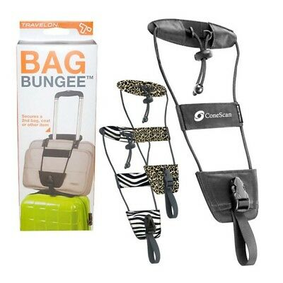 Travelon Luggage Strap Bag Bungee Holder Safety Security Travel Accessory