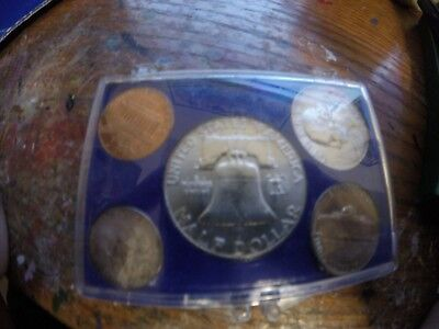 1962 United States 5 Coin Silver Year Set