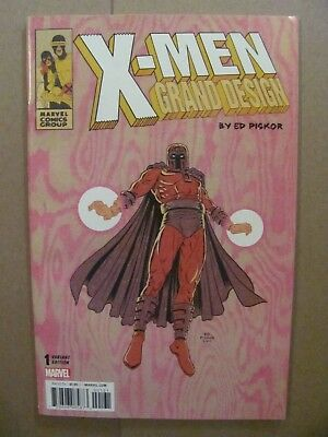 X-Men Grand Design #1 Marvel 2017 Series Ed Piskor Magneto Variant 9.4 Near Mint