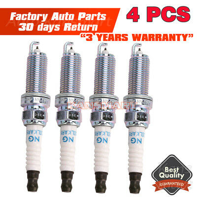 4x Iridium Spark Plugs for Altima Cube Rogue Sentra DILKAR6A-11 22401-JA01B