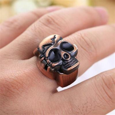 Fashion Unisex Finger Skull Ring Watch
