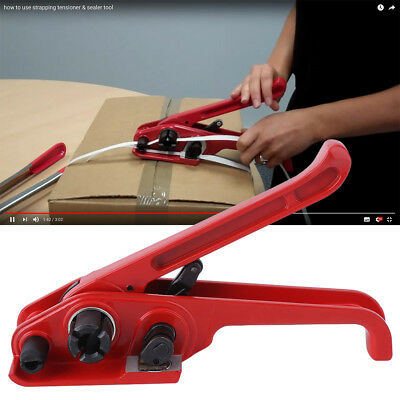 Heavy Duty Hand Tensioner / Tensioning Tool For Pallet Strapping Banding 12mm MR