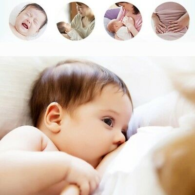U-Shape Maternity Breastfeeding Support Pillow Infant Baby Nursing Cushion UK