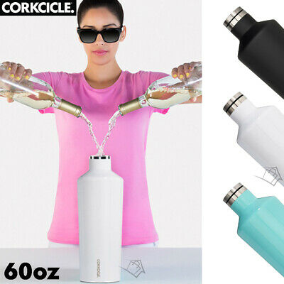 NEW Corkcicle Canteen 60oz -1.75L Insulated Water Drink Bottle Wine Cooler Flask