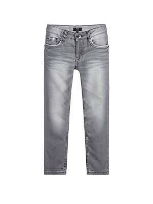 Hugo Boss Boys Light Grey Skinny Fit Jean
