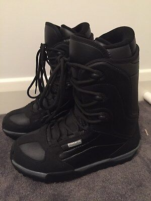 As New Rossignol DL Men'sBlack Snowboard Boots - Size US 9.5