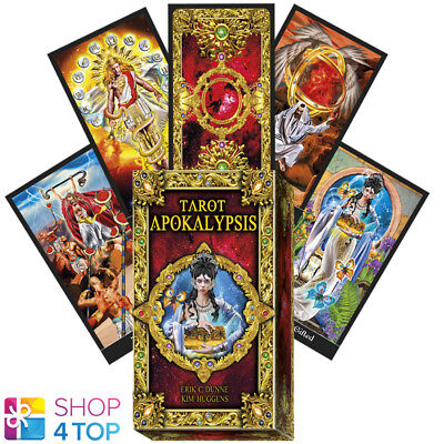 Dunne Apokalypsis Tarot Deck Cards Lo Scarabeo Esoteric Fortune Telling New