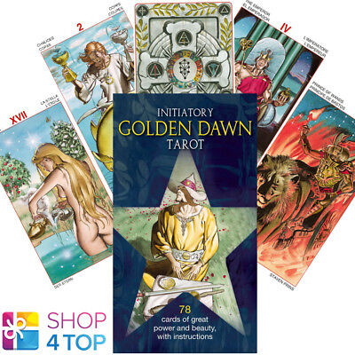 Initiatory Tarot Of The Golden Dawn Deck Cards Berti Esoteric Telling New