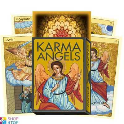 Karma Angels Oracle Cards Deck Catz Goodwin Esoteric Telling Lo Scarabeo New
