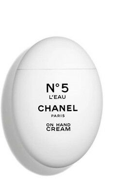Chanel No5 L'eau On Hand Cream Brand New Boxed Summer 2018 Limited
