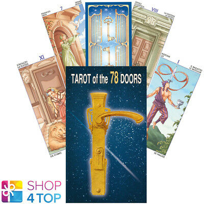 Tarot Of The 78 Doors Deck Cards Platano Fortune Telling Lo Scarabeo New