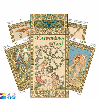 Harmonious Tarot Deck Cards  Esoteric Fortune Telling Lo Scarabeo New