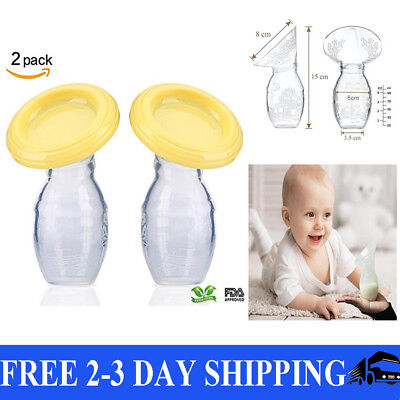 Haakaa Silicone Breast Pump Stopper BPA PVC and Phthalate free Flower Shape 2pck