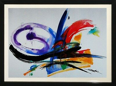 Alfred Gockel, Abstract Decorative Wall Art Home Decor Framed