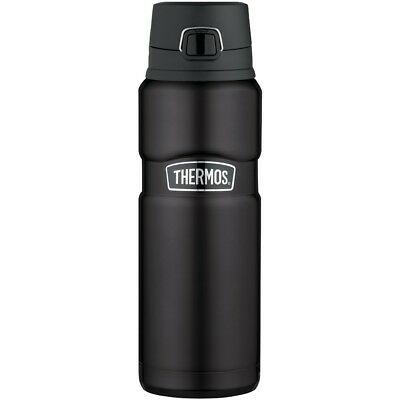 NEW Thermos(r) Stainless King(tm) Vacuum-insulated Drink Bottle, 24oz (matte Bla