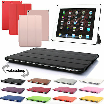 US Smart Magnetic Leather Stand Flip Case Cover for iPad 2 3 4 Air Mini Pro